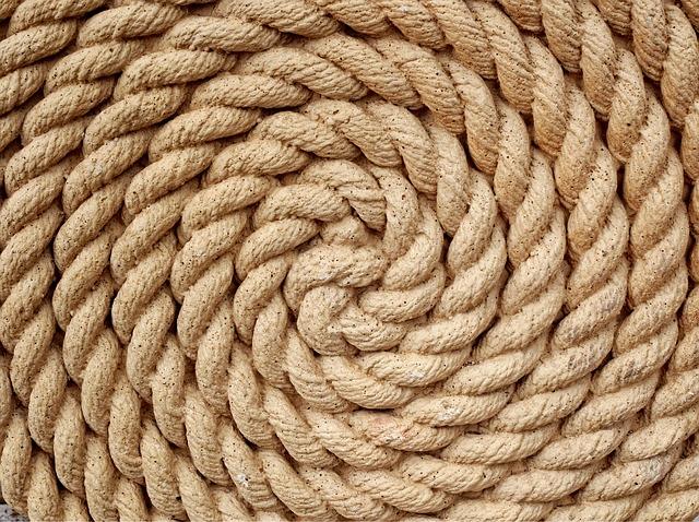 spirála z lana