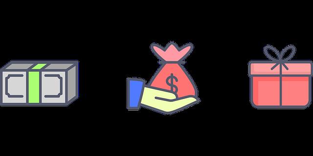 peníze za balíček
