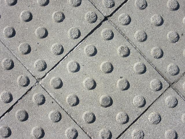 betonové čtverce