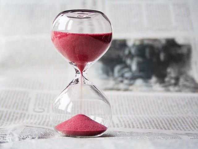 přesýpací hodiny